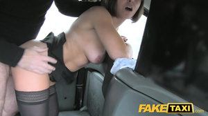 Cab boy made out with young chick and them with her stepmom