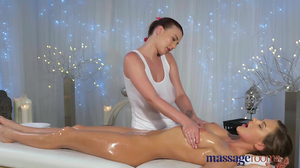 Belle wants pussy stimulation and masseuse gives it to her