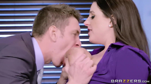 Slutty Australian MILF wildly penetrated by boss
