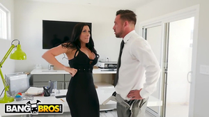 Office banging with a dominant dude and a busty girl